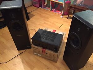 YAMAHA RX-V490 amp + INFINITY REFERENCE 30 SPEAKERS