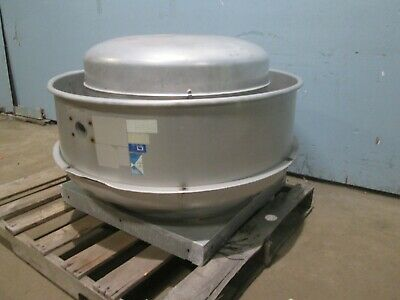 Centrlmaster H.d. Commercial Hp 200-230-460v 3ph Large Roof Top Exhaust Fan