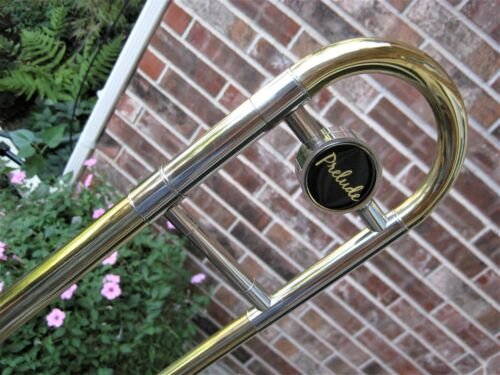 Clean/Lubricated Conn-Selmer Prelude Trombone Nice Slide! Bach Mouthpiece