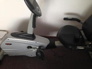 Recumbent exercise bike Lake Haven Wyong Area Preview