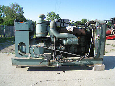 150 Kw Diesel Generator 480277 Vac 3 Phase  Auto Start 232 Hours