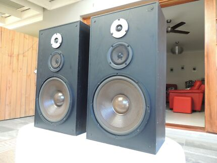 KLH 1230SB speakers - made in the US