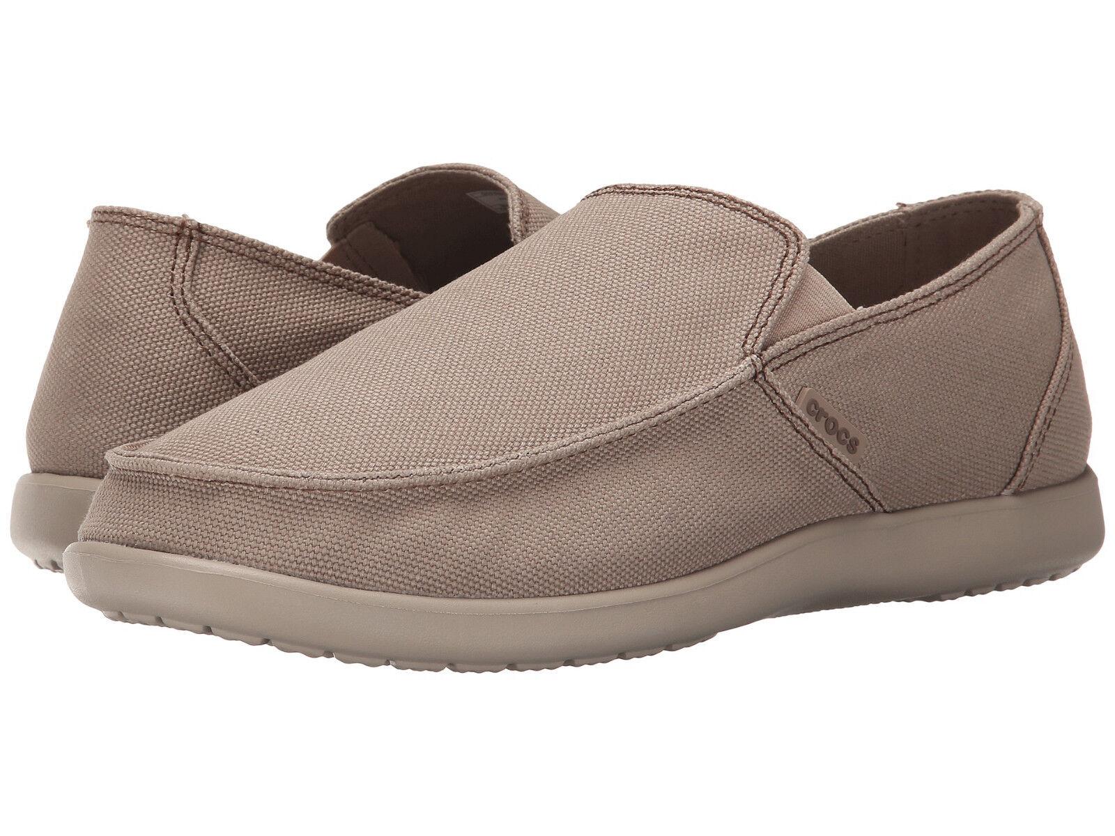 Men Crocs Santa Cruz Clean Out Loafer 202972-2U6 Khaki Cobbes 100% Original New