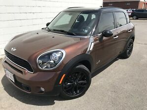 2014 Mini Countryman Sunroof, leather, All Wheel Drive $66.Wk.