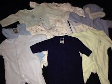 Baby boy size 0000 bundle Sleepsuits Happy Valley Morphett Vale Area Preview