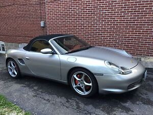 03 Porsche Boxster S, 73K kms, new clutch & IMS bearing & RMS.