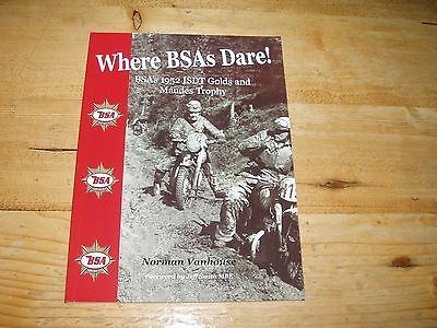 Where BSAs Dare by Norman Vanhouse - Was £12.99
