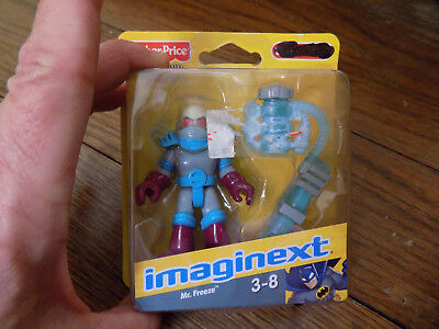 Fisher Price Imaginext Mr. Freeze action Figure Batman bad guy toy New 2009 FUN!