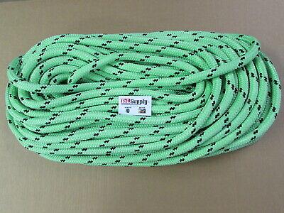 200ft X 34 Notch Kraken Monster Double Braid Rigging Rope 20230lb Arborist