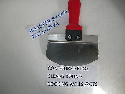 Contoured Crumb Line Scraping Tool Stainless Use With Any Broaster Fryer