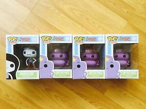 New Funko Pop Adventure Time Bundle 1 Marceline + 3 Lumpy Princes North Sydney North Sydney Area Preview