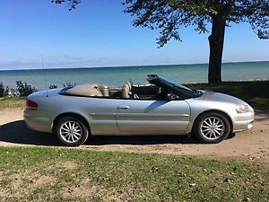 2001 Chrysler Sebring Convertible