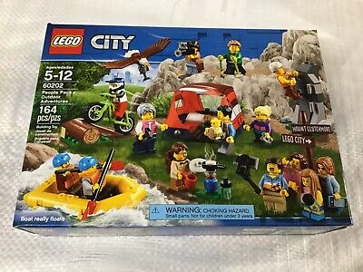 LEGO City 60202 People Pack Outdoors Adventures NEW 14 Minifigs Retired