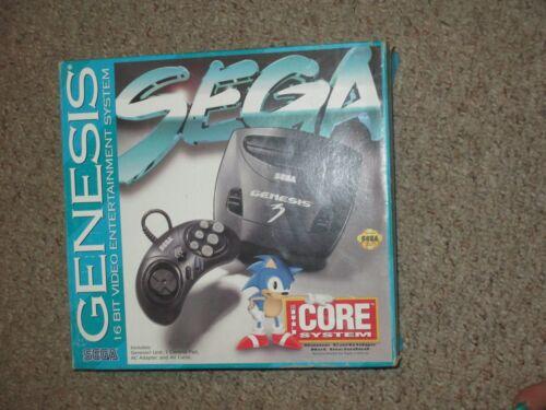 Sega Genesis Model 3 Black Console NEW In Box Unused NIB GEN15