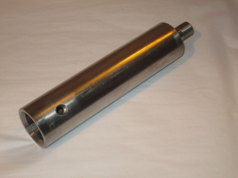 """Stainless Steel Shaft Extension Adapter 1-1/8"""" Inner Bore to 5/8"""" adapter"""