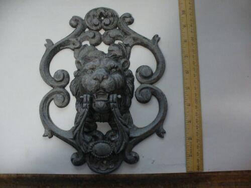 Aluminum Lion Door Knocker ( Oldish)
