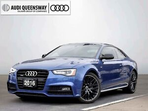 2016 Audi A5 2.0T Progressiv, Rare Competition Package! AWD!