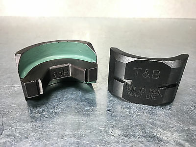 Thomas & Betts 15611 Connector Die, 600 kcmil, Green, 94H, T&B