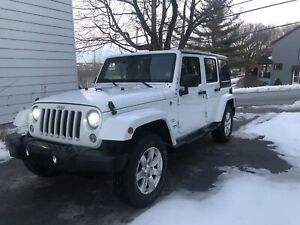 LEASE TAKEOVER — 2018 Jeep Wrankler Sahara Unlimited