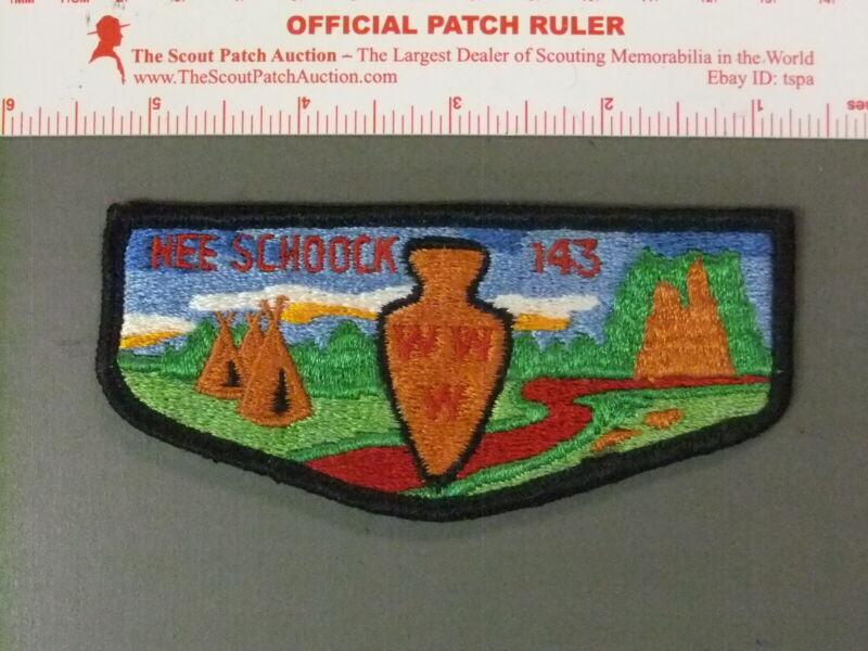 Boy Scout OA 143 Nee-schoock flap 7618JJ