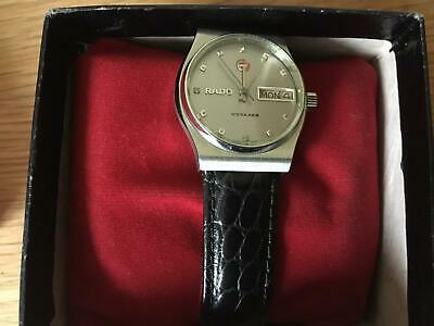 Rado vintage voyager watch - black strap