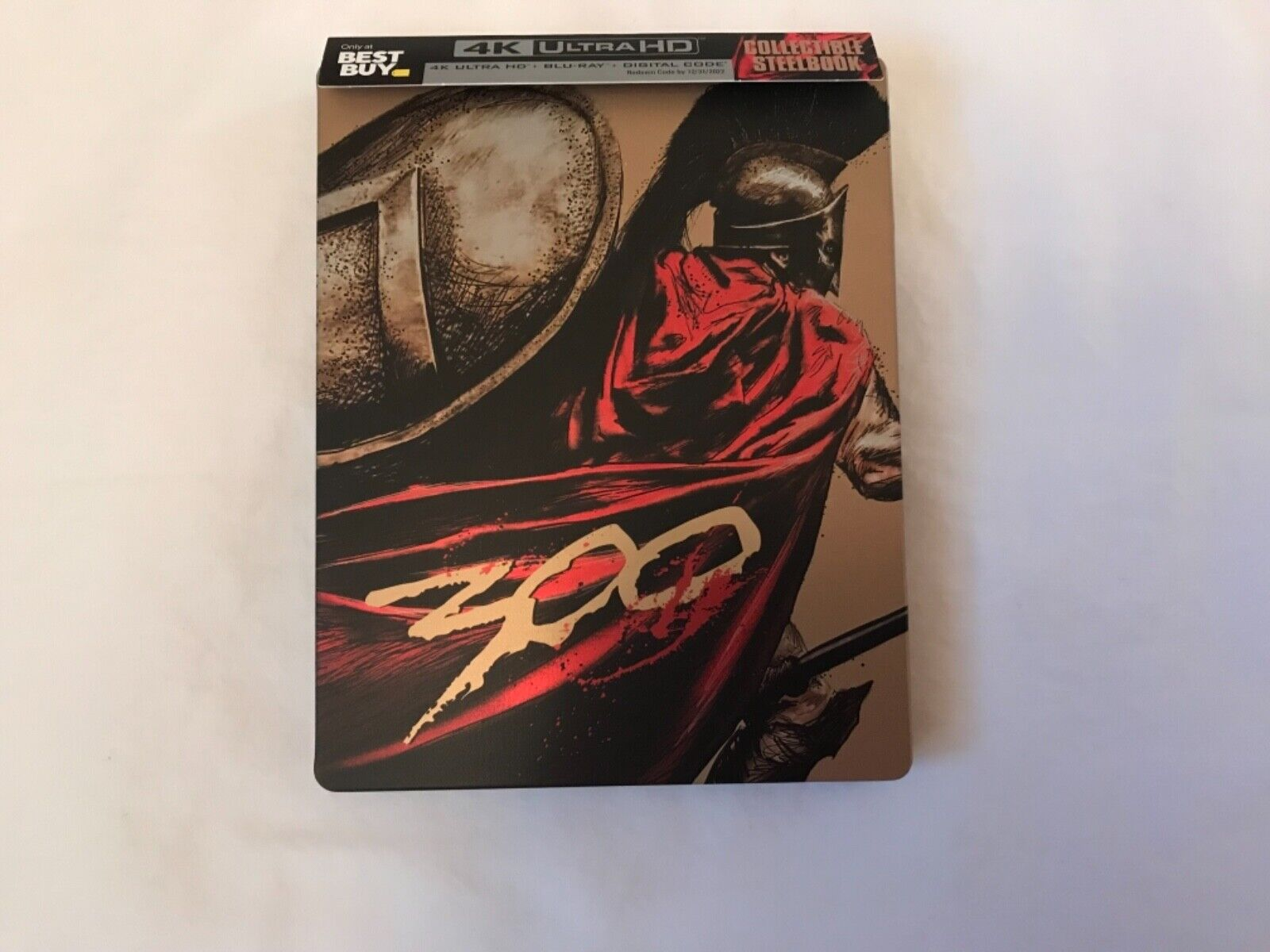 300 - Best Buy Steelbook 4K Blu-ray Digital  - $45.00
