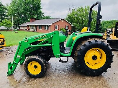 JOHN DEERE 4600 TRACTOR LOADER TLB 540 PTO 3 POINT 4X4