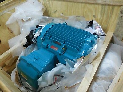 Variable RPM Electric Motor Brook Compton 460 Volt, W-EF365T-N 885/1770 RPM