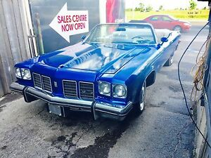 1975 CONVERTIBLE OLDS 455