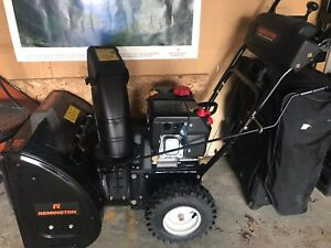 Snow Blower (Gas) with Electric Start-purchased Dec. 2017