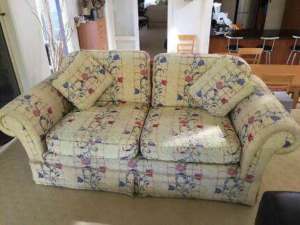 TWO GENUINE MORAN SOFAS Kew East Boroondara Area Preview