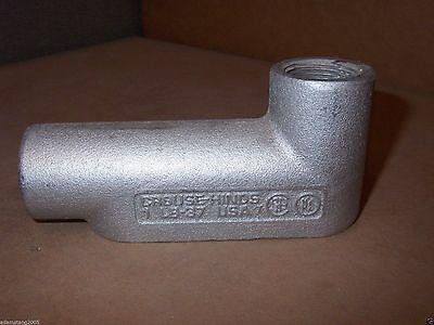 Crouse Hinds Lb-37 Lb37 Condulet 1 Lb Rigid Outlet Box