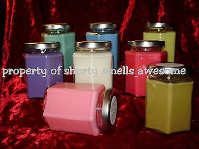 100% Soy Candle Jar Scented Candles Your Choice Scent You Pick Scent A - E
