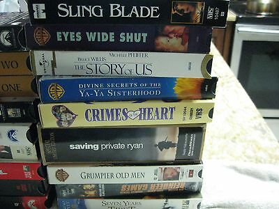Lot 17 Vhs Tapes   Top Selling Movies