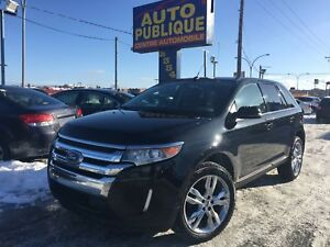 Ford Edge 2013 Limited AWD CUIR TOIT PANO NAV GPS MAGS 20PO