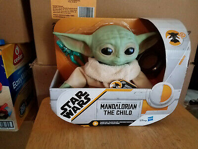 "Hasbro 7.5"" Star Wars The Child Baby Yoda Talking Plush Toy"