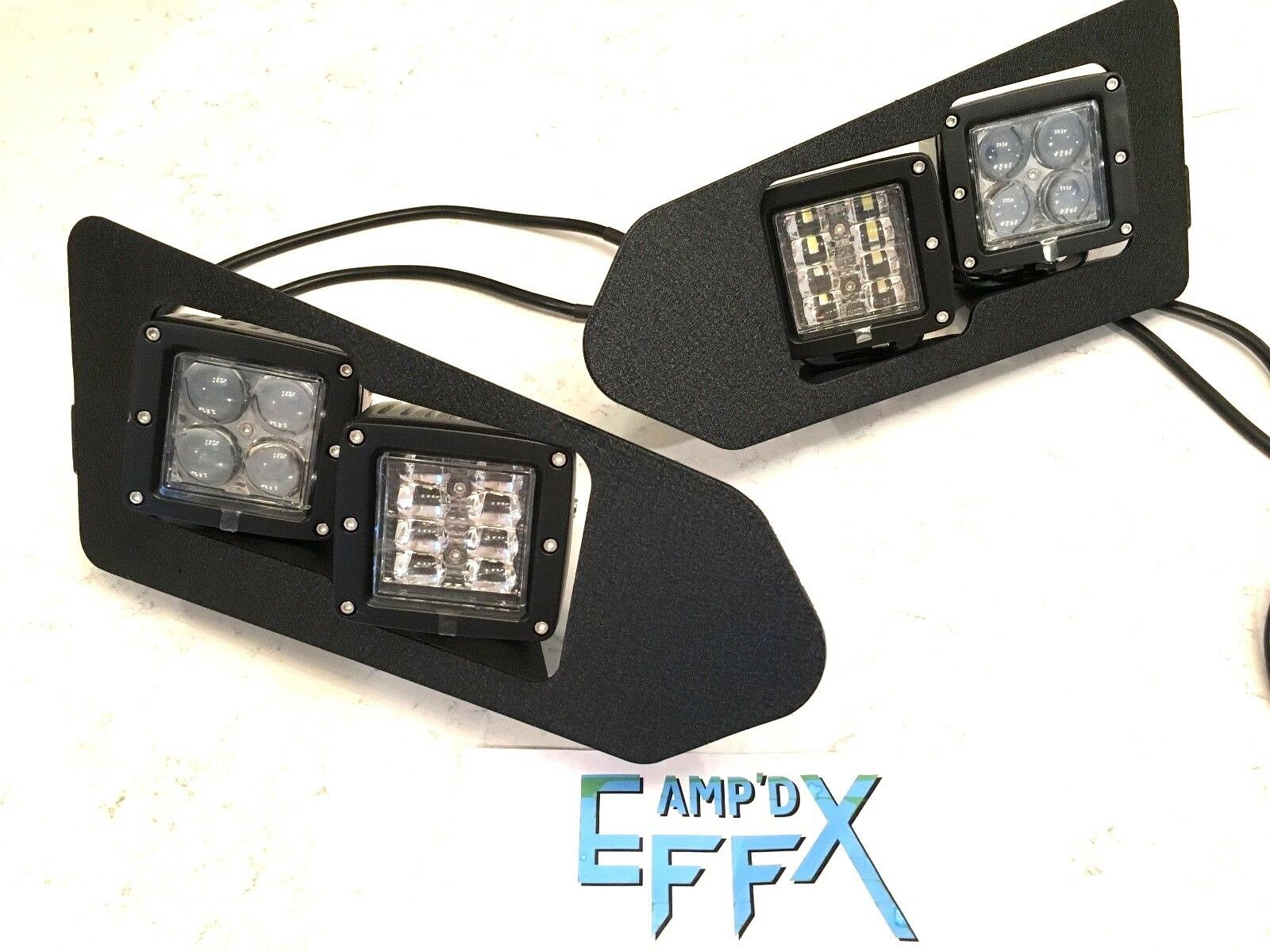 POLARIS RANGER 570  - UPGRADE TO LED CUBE HEADLIGHTS KIT  2015-2018 XP