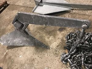 Anchor, CQR Plough type 6.5kg 15lbs with 7m chain Brookvale Manly Area Preview