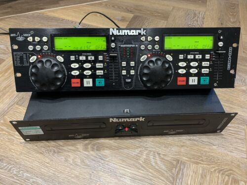 "Numark CDN-88 Twin Dual CD Player Controller DJ Mobile Disco Party 19"" Rack"