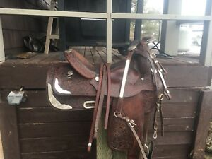 Circle Y saddle/bridle/breast plate