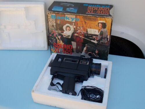 Sankyo Sound XL-40S Super 8 Movie Camera  AS FOUND UNTESTED