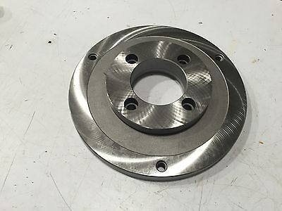 Bison 8215-10-5 Lathe 10 Chuck Adapter Back Plate Free Shipping
