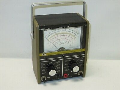 Vintage Bk Precision Portable Electronic Multimeter Model 277 No Probes Tested