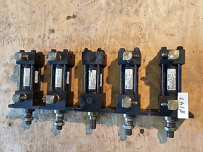 Schrader Bellows Hydraulic Cylinders Lot Of 5 8147