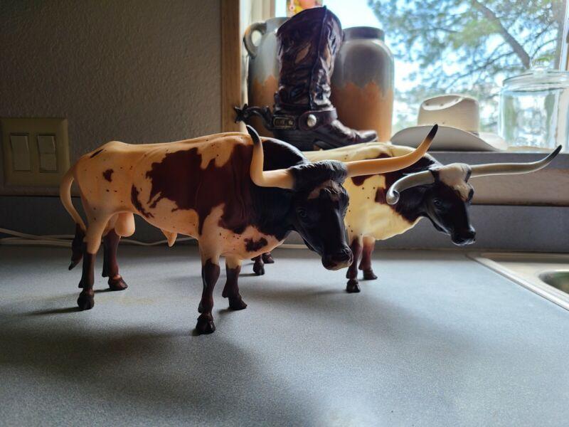 breyer longhorn bull