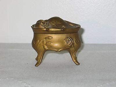 Lovely Antique Victorian-Art Nouveau Jewelry Casket Trinket Box