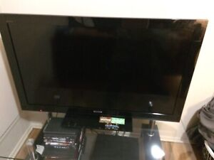 42 inch Sony Bravia 1080p with tv stand.