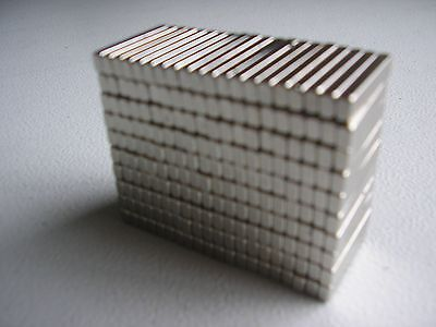 200, 3.9mm x 2.54mm x 21mm used neodymium (rare earth) motor magnets