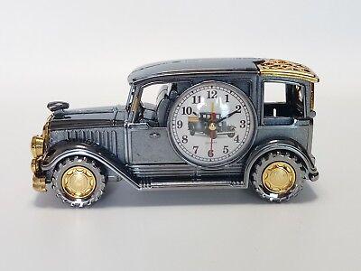 Electical alarm clock cute classic car office home desk clock__fast shipping