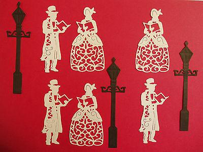 Die-Lectables Carol Singers & Die-Siree Lamp Post Die Cut Embellishments (9pce)